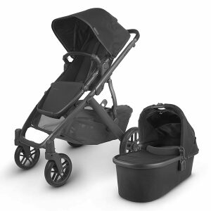 UPPAbaby Vista With Bassinet V2 + Rumble Seat & Upper Adaptors Package