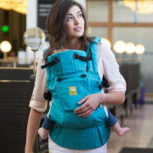 Lillebaby Complete Embossed Carrier Teal