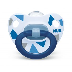 NUK BPA-Free Silicone Soother 6-18mths