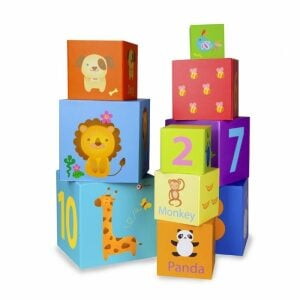 Classic World Cardboard Stacking Cubes