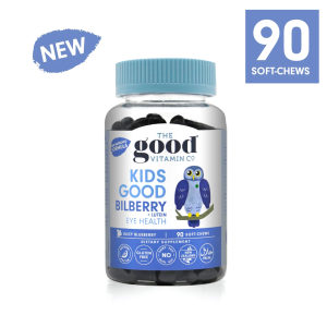 The Good Vitamin Co Kids Good Bilberry + LUTEIN 90s