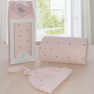 Living Textiles Swaddle Me Gift Set