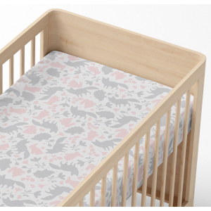 Lolli Living Forest Friends Fitted Cot Sheet