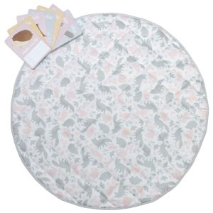 Lolli Living Forest Friends Round Play Mat