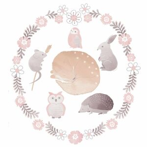 Lolli Living Forest Friends Wall Decals