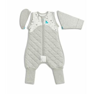 Love To Dream Swaddle Up Transition Suit White 2.5TOG