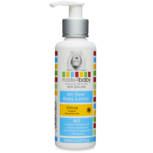 Made4Baby All Over Baby Lotion Organic Citrus 150ml