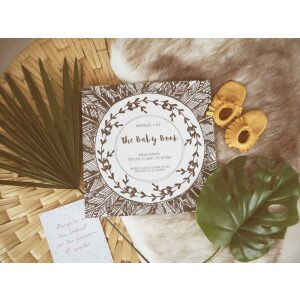 Marlee + Jo Monochrome Collection The Baby Book