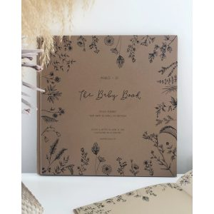 Marlee + Jo Nature Collection Baby Book