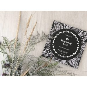 Marlee + Jo Monochrome Collection The Pregnancy Book