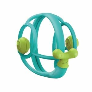 Mombella Snail Rattle Teether