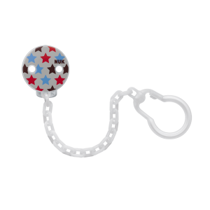 NUK BPA-Free Soother Chain Prints
