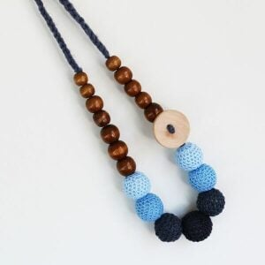 Munch Wooden Teething Necklace
