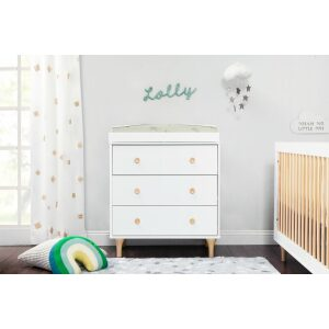 Babyletto Lolly 3 Drawer Changer With Changing Tray