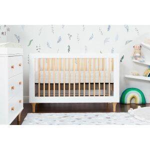 Babyletto Lolly 3in1 Convertible Cot With Toddler Bed Kit