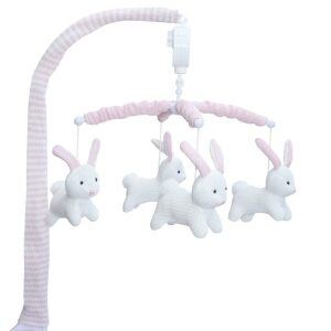 Living Textiles Bunny Musical Cot Mobile