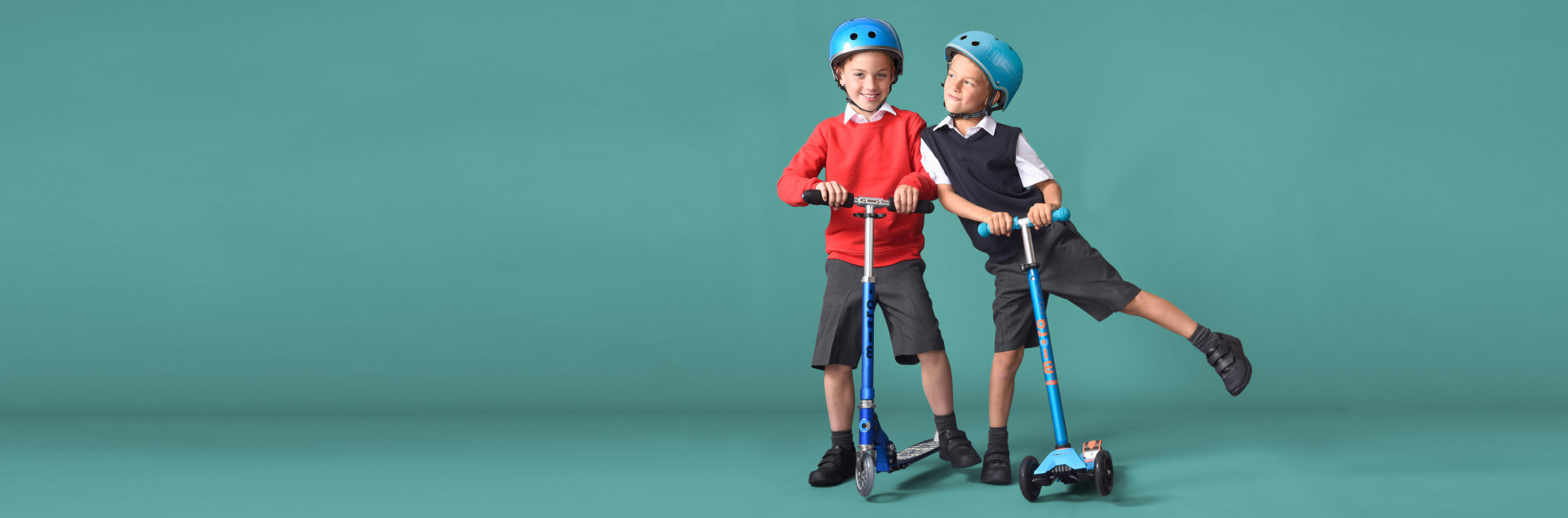 Scooters & Helmets
