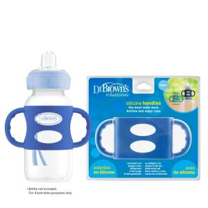 Dr Browns Wide Neck Silicone Bottle Handles