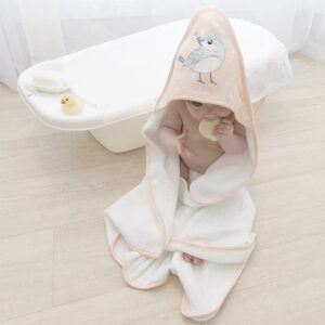 Living Textiles Hooded Towel – Ava