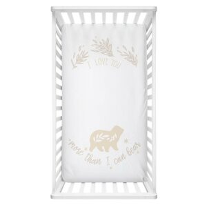 Lolli Living Cot Fitted Sheet – More Than I Can Bear