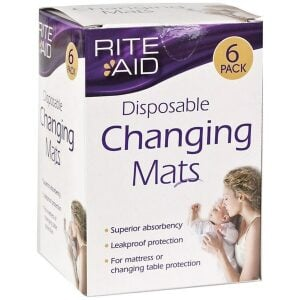Rite Aid Disposable Changing Mats 6pk